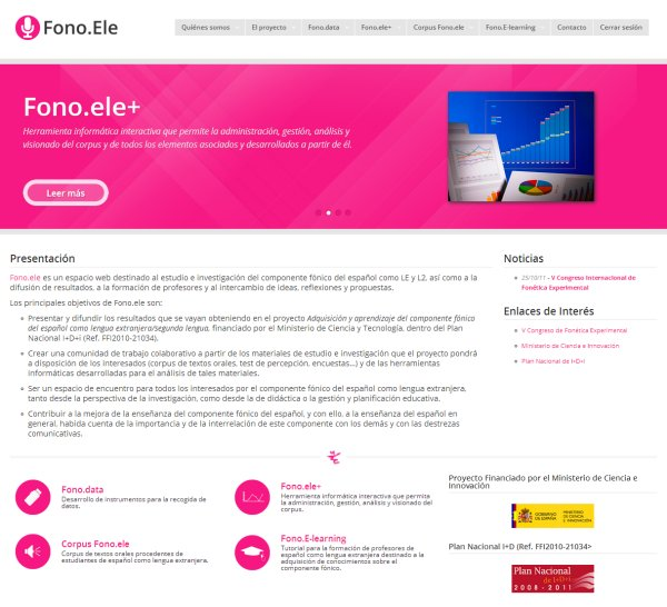 Fono.ele website